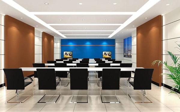 Lắp đặt hệ thống ánh sáng trong phòng họp trực tuyến