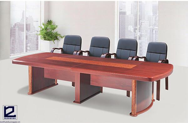 Báo giá bộ bàn ghế phòng họp bằng gỗ CT3012H1-GH02