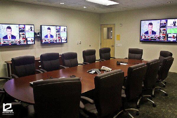 Màu sắc trong thiết kế phòng họp trực tuyến