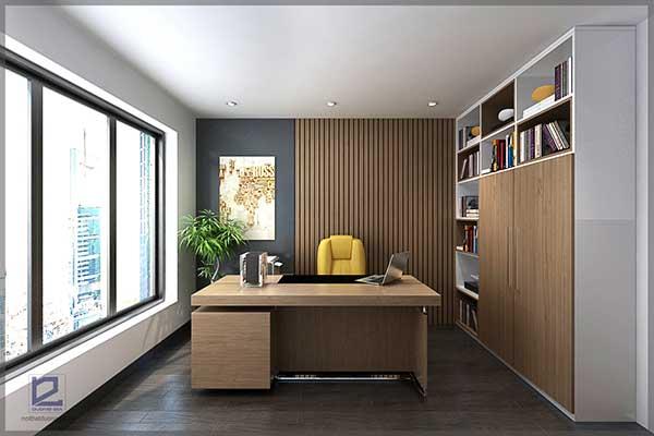 Mẫu thiết kế nội thất phòng Giám đốc GD-DG19 view 1
