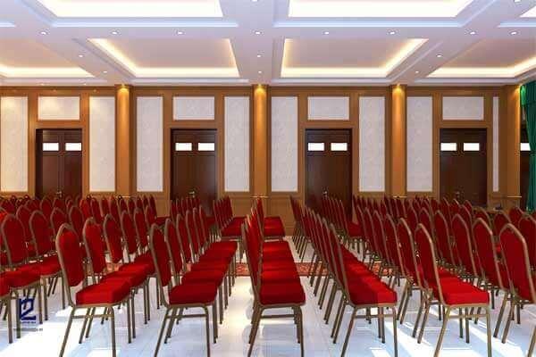 Thiết kế hội trường công ty Tiến Hà HT-DG19 view 3