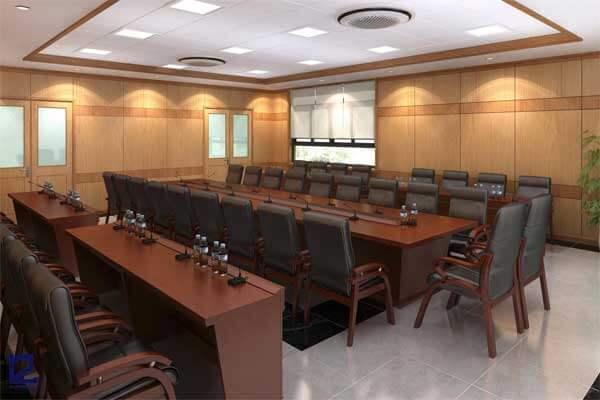Mẫu thiết kế nội thất phòng họp PH-DG27 view 3