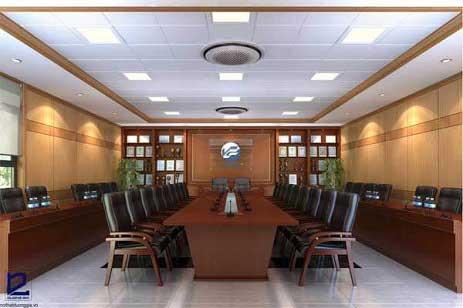 Mẫu thiết kế nội thất phòng họp PH-DG27 view 1