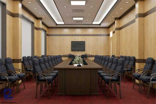 Thiết kế phòng họp công ty Xi măng Vicem Sông Thao PH-DG28 view 2