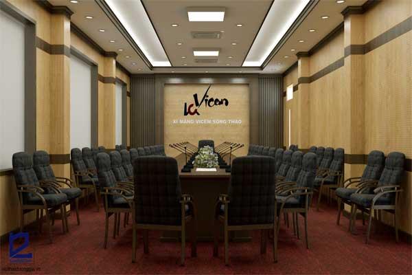 Thiết kế phòng họp công ty Xi măng Vicem Sông Thao PH-DG28 view 1