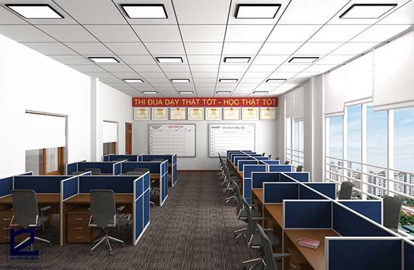 Mẫu thiết kế nội thất văn phòng View 3