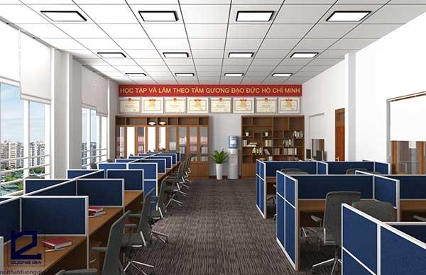 Mẫu thiết kế nội thất văn phòng VP-DG25