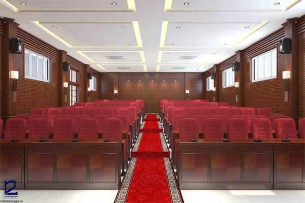 Mẫu thiết kế nội thất hội trường HT-DG20 view 2