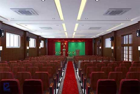 Mẫu thiết kế nội thất hội trường HT-DG20