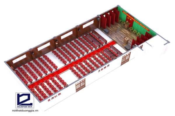 Mẫu thiết kế nội thất hội trường HT-DG20 view 4