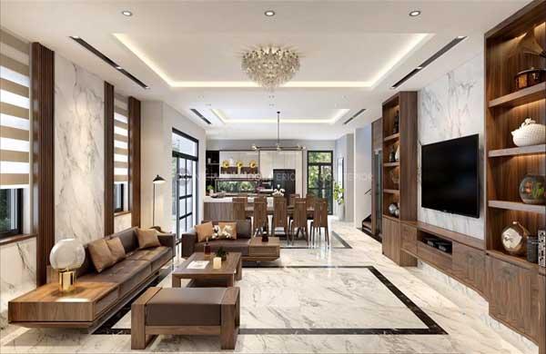 Nội thất Dương Gia Việt Nam nhận thiết kế thi công nội thất gia đình trọn gói