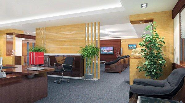 Mẫu thiết kế số 2 nội thất phòng giám đốc theo phong cách hiện đại
