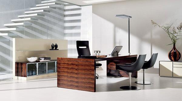 Thiết kế phòng làm việc cho tổng giám đốc theo phong cách hiện đại - Mẫu 3