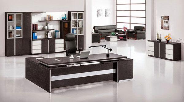 Mẫu số 4 thiết kế nội thất phòng làm việc cho giám đốc theo phong cách hiện đại