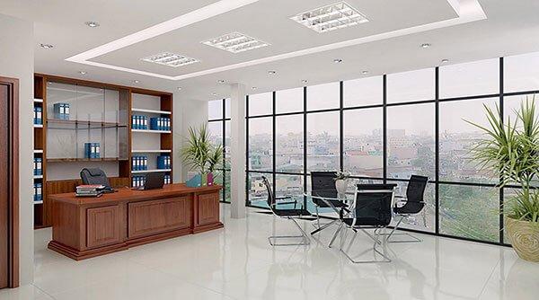 Đặc trưng phòng Giám đốc mang phong cách hiện đại