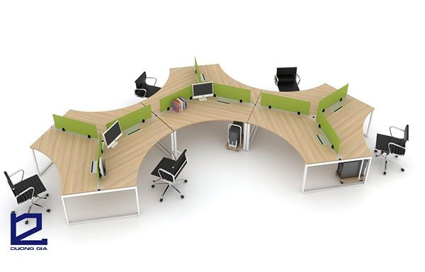 Bàn văn phòng phải phục vụ hiệu quả nhất cho công việc