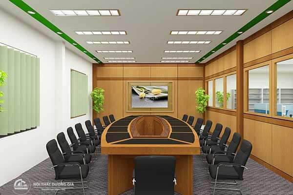 Cách lựa chọn nội thất cho thiết kế phòng họp nhỏ