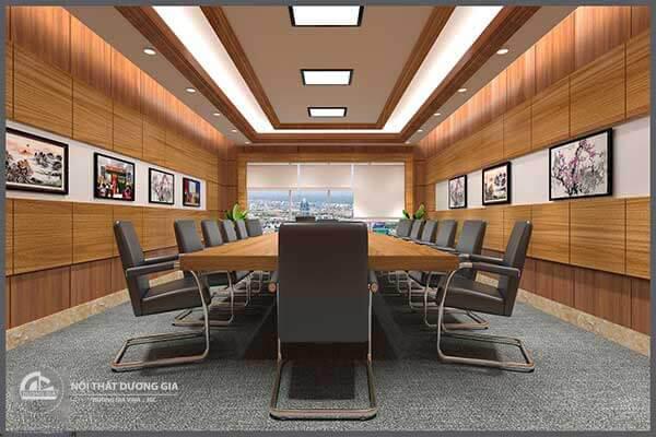 Công ty thiết kế nội thất phòng họp đẹp, giá rẻ nhất
