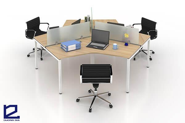 Mẫu bàn văn phòng đẹp, giá rẻ