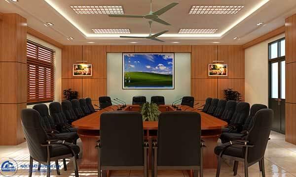 Mẫu thiết kế nội thất phòng họp 06 phù hợp với những phòng có diện tích nhỏ
