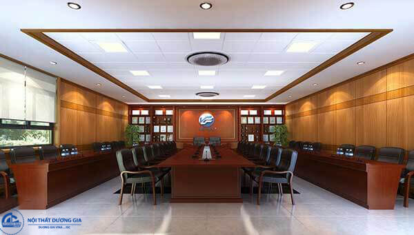 Mẫu thiết kế nội thất phòng họp đẹp 5