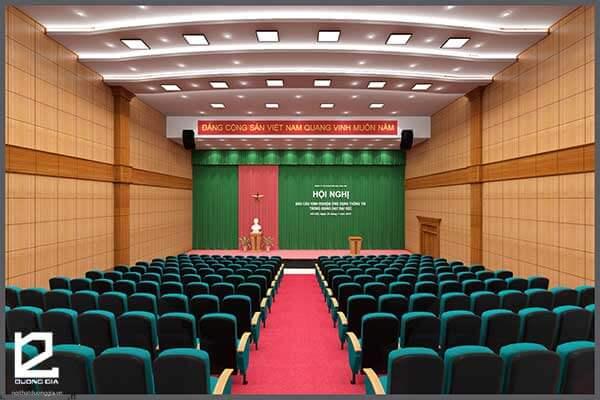 Mẫu thiết kế nội thất hội trường HT-DG22 view 1