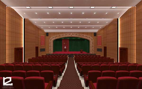 Mẫu thiết kế nội thất hội trường HT-DG23 view 1