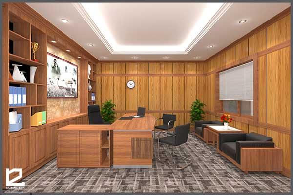 Mẫu thiết kế nội thất phòng giám đốc GD-DG20 view 1