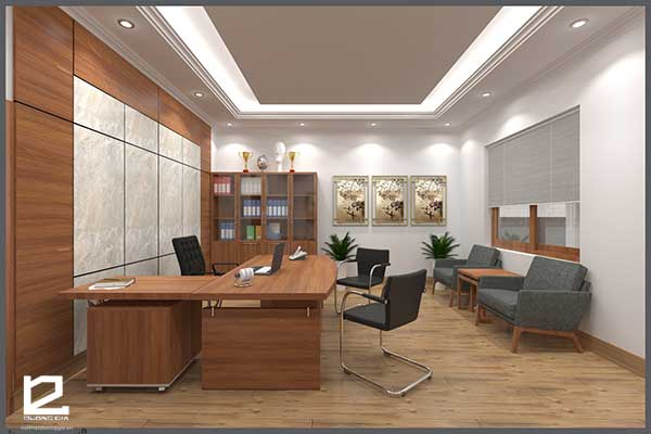 Mẫu thiết kế nội thất phòng giám đốc GD-DG21 view 3