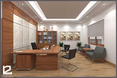 Mẫu thiết kế nội thất phòng giám đốc GD-DG21