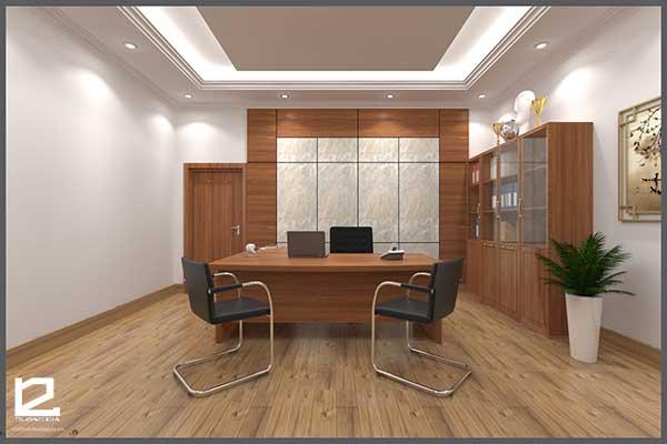 Mẫu thiết kế nội thất phòng giám đốc GD-DG21 view 1