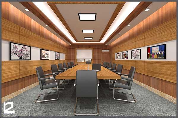 Mẫu thiết kế nội thất phòng họp PH-DG30 view 2