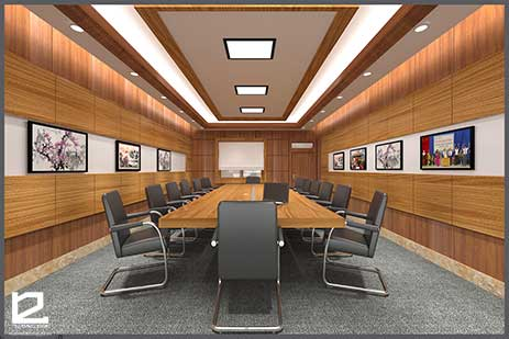 Mẫu thiết kế nội thất phòng họp PH-DG30
