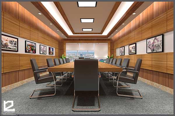 Mẫu thiết kế nội thất phòng họp PH-DG30 view 1