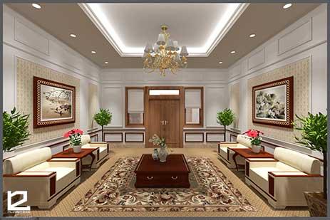 Thiết kế nội thất phòng khánh tiết KT-DG14