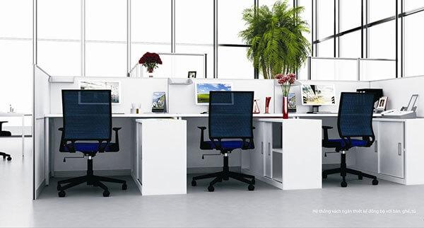 Mẫu thiết kế nội thất văn phòng Fami
