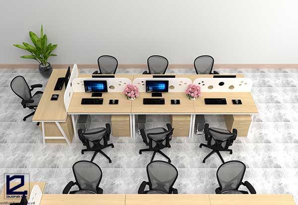 Mẫu bàn làm việc văn phòng BVP-DG02