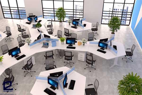 Bàn làm việc văn phòng BVP-DG07