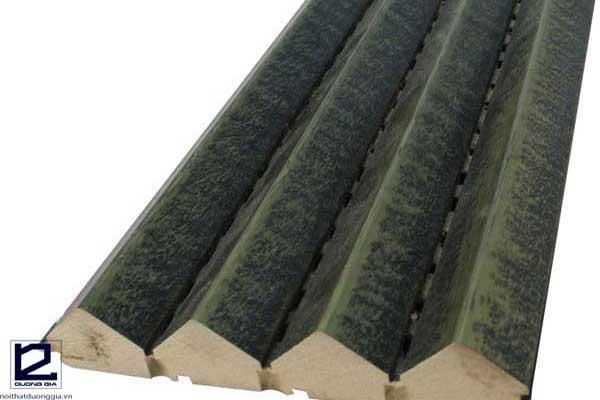 Thông số kỹ thuật của gỗ tán âm
