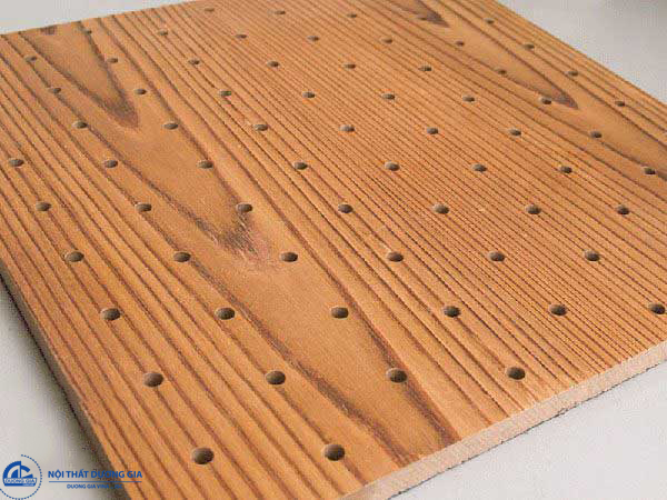 Vách gỗ tiêu âm có thiết kế đa dạng