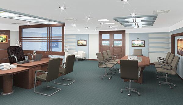 Lưu ý để có một mẫu nội thất văn phòng đẹp