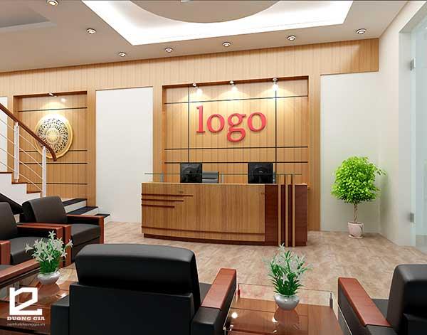 Chọn kích thước quầy lễ tân phù hợp với thiết kế nội thất giúp tăng giá trị thẩm mỹ và đẳng cấp của doanh nghiệp