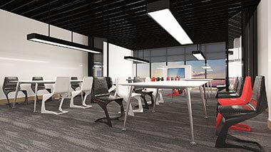 Cách thiết kế văn phòng 40m2, 50m2, 60m2 và 200m2 đẹp, chuyên nghiệp