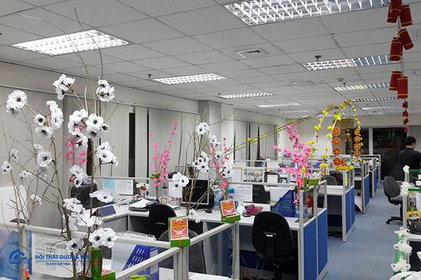Ý nghĩa của việc trang trí văn phòng Tết