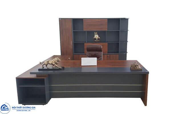 Bàn Giám đốc Luxury LUXB2720V1 đẳng cấp, sang trọng