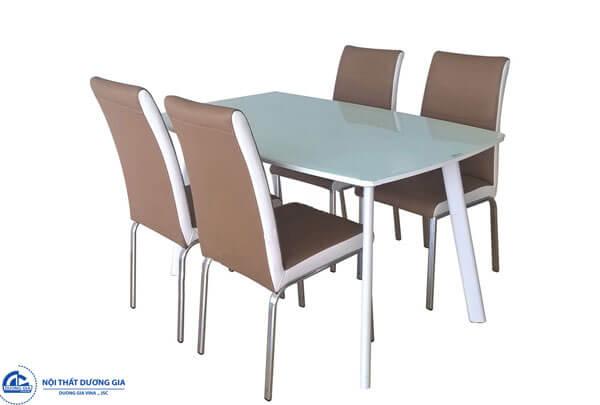 Bộ bàn ghế ăn khung thép cao cấp B60 + G60