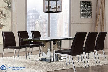 Bàn ghế phòng ăn Hòa Phát B61 + G61