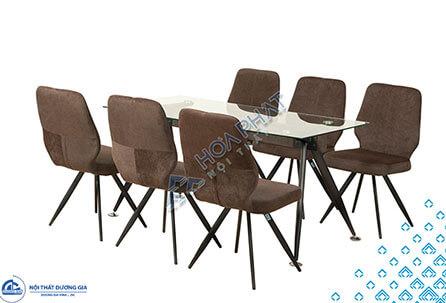 Bộ bàn ghế phòng ăn B65 + G65 giá rẻ, chất lượng