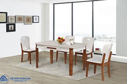 Bộ bàn ghế ăn BA128 + GA128