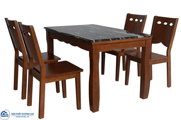 Bộ bàn ghế phòng ăn HGB74A, HGB74B + HGG74